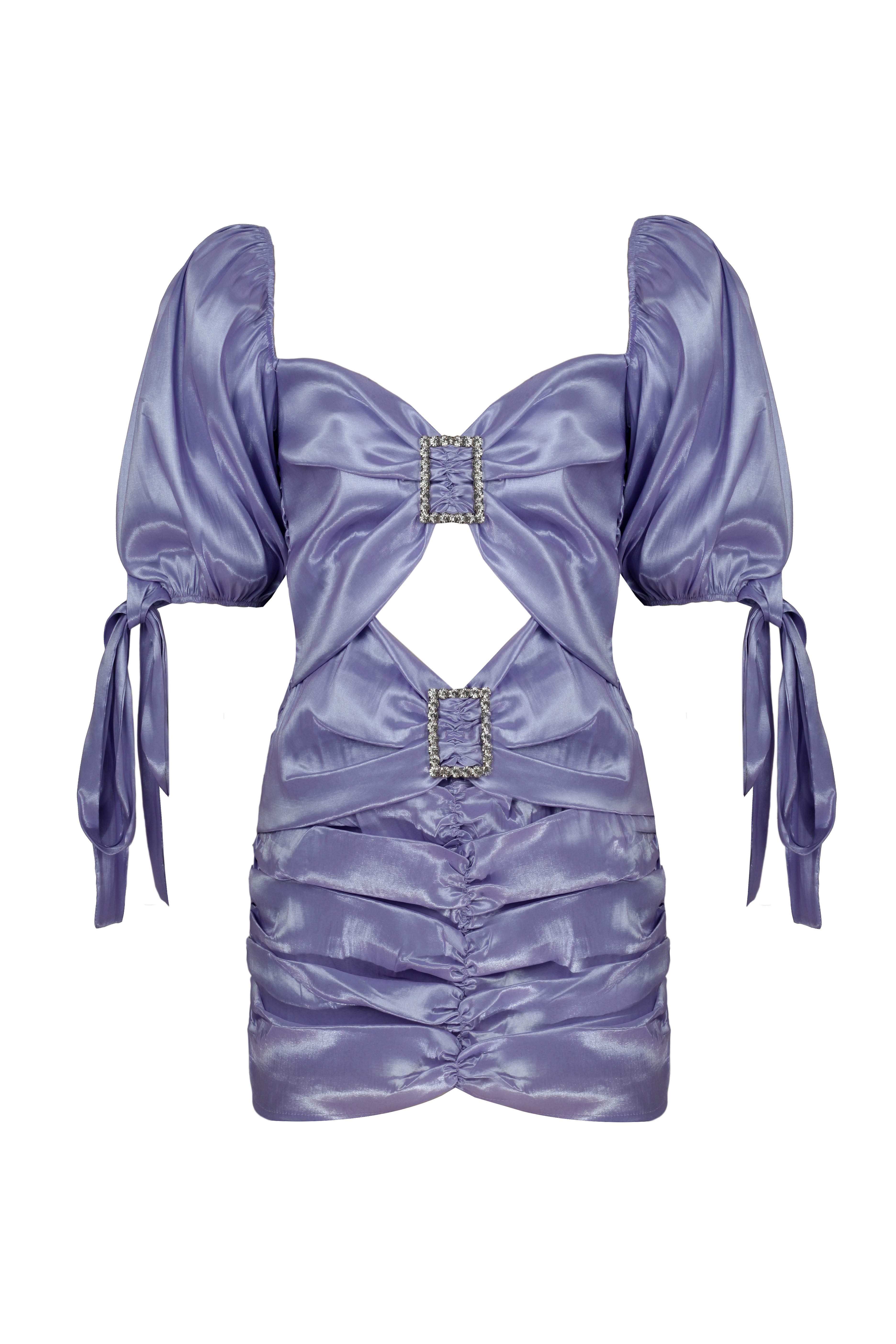 Cheri Dress in Lilac